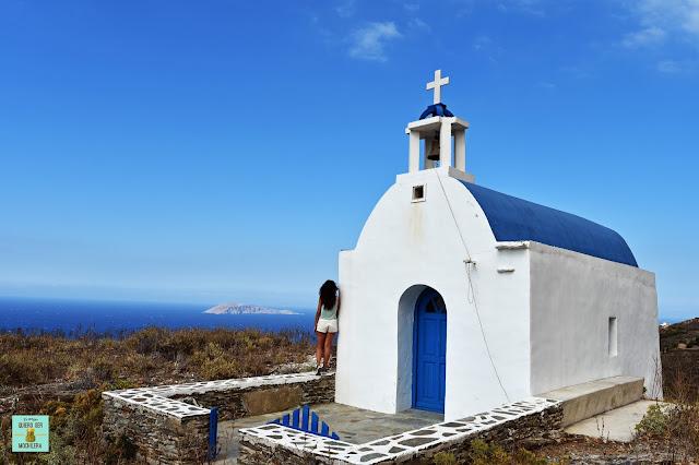 Agios Minas, isla de Serifos (Grecia)