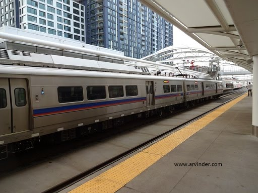 airport train denver