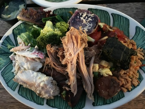 Old Lahaina Luau pig roast dinner