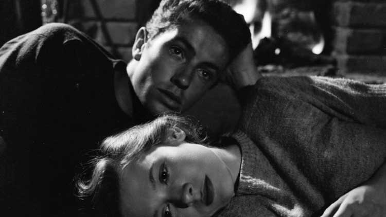 Farley Granger and Cathy O'Donnell star in Nicholas Ray's They Live By Night.