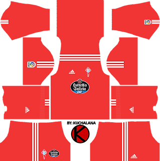 Celta Vigo Kits 2017/18 - Dream League Soccer