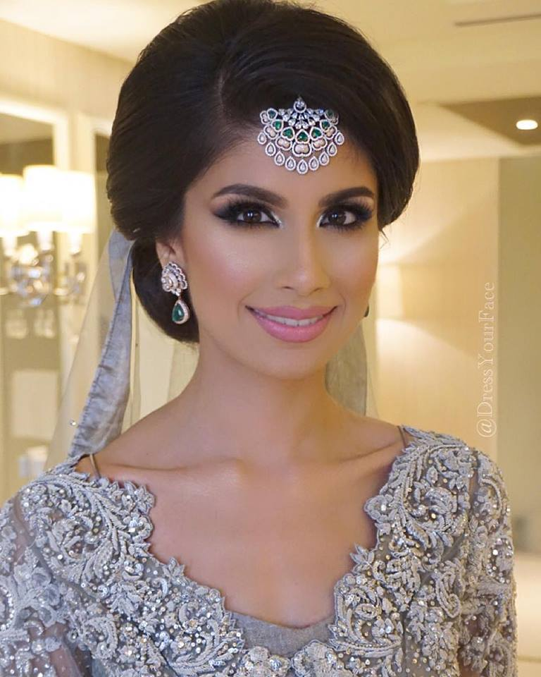 Hairstyle For Indian Wedding Guest: Ritz Carlton, Abu