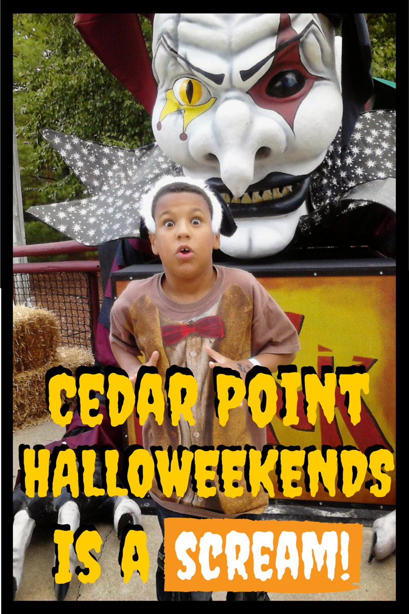 HalloWeekends at @CedarPoint is a Scream for Kids #sponsored #BloggingatCP