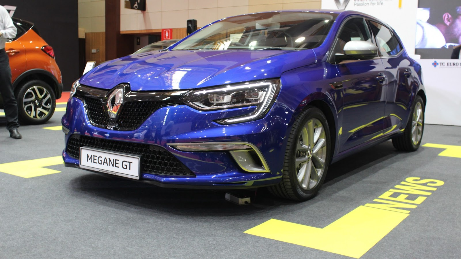 Motoring Malaysia The New Renault Megane Gt It Will Be On Display