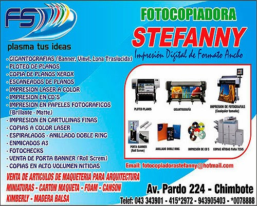 FOTOCOPIADORA STEFANNY