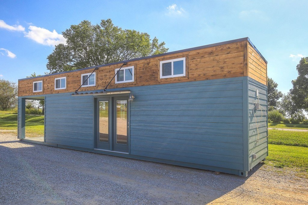 TINY HOUSE TOWN Archie Shipping Container Home 312 Sq Ft