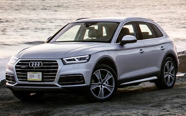 Audi Q5 - vendas na América do Norte