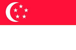 Gambar Bendera negara Singapura