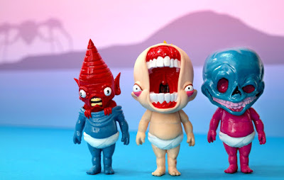 San Diego Comic-Con 2018 Exclusive The Thunder Babies Resin Figures by Alex Pardee x Greg Aronowitz