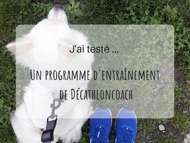 test d'un programme d'entraînement Décathlon coach