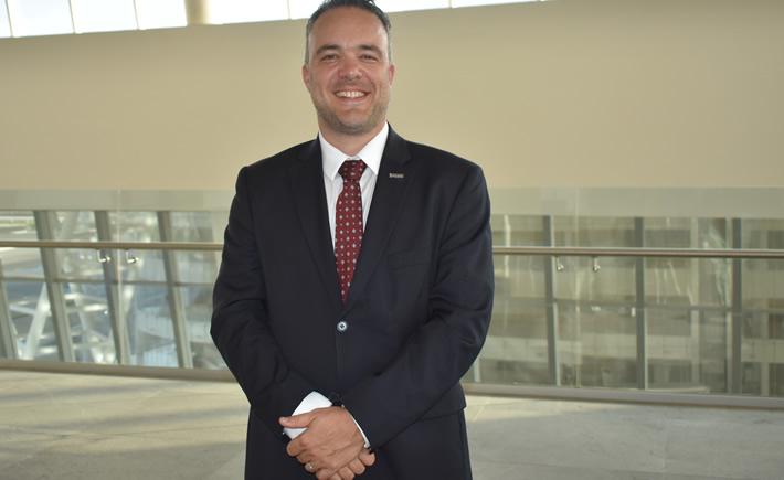 Pascal Labelle, director de Recursos Humanos de Bombardier. (Foto: Vanguardia Industrial)