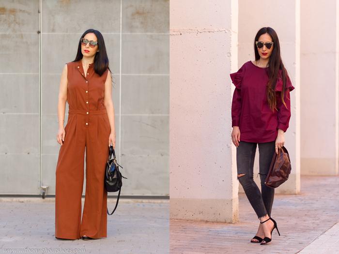 Influencer instagramer e moda belleza con looks bonitos y comodos para mujer
