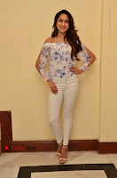 Actress Pragya Jaiswal Latest Pos in White Denim Jeans at Nakshatram Movie Teaser Launch  0054.JPG
