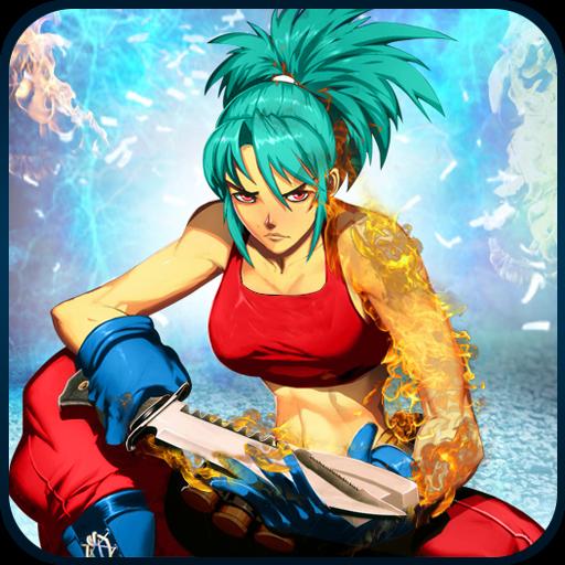 تحميل لعبه Ultimate Street Super Girl Fight 2018 مهكره اخر اصدار