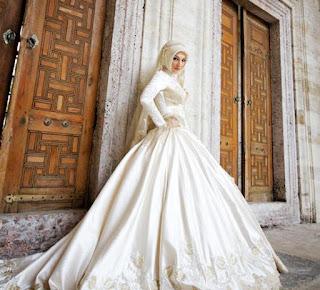 Baju Pengantin Muslimah Modern