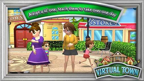 تحميل Virtual Town مهكرة ذهب لانهائي