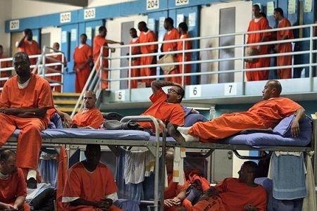 Men in jail