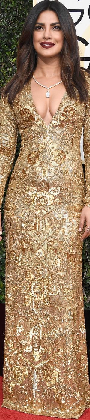 Priyanka Chopra 2017 Golden Globes