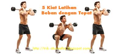 5 Kiat Latihan Beban dengan Tepat
