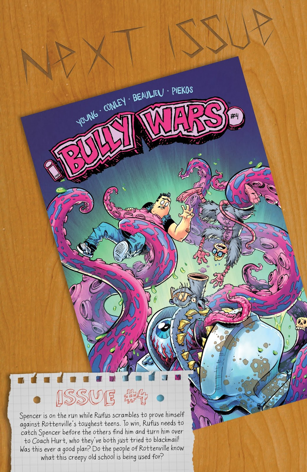 Read online Bully Wars comic -  Issue #3 - 22