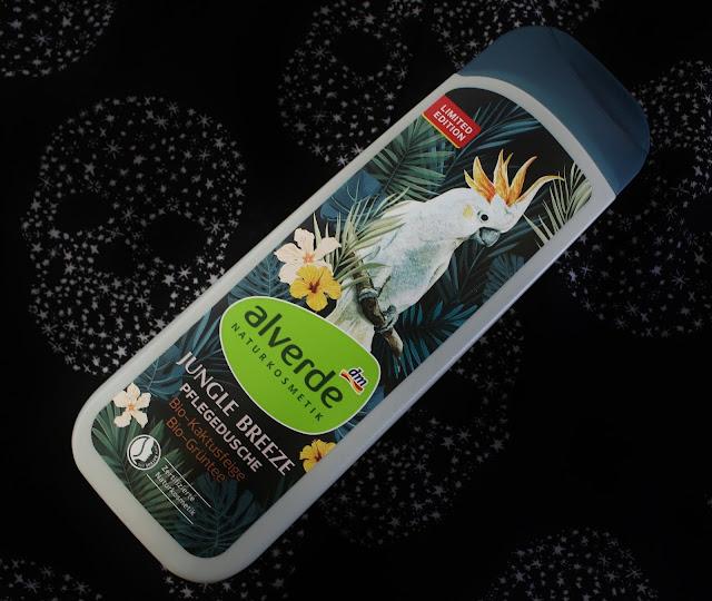 Alverde Jungle Breeze Pflegedusche mit Kaktusfeige und Grüntee