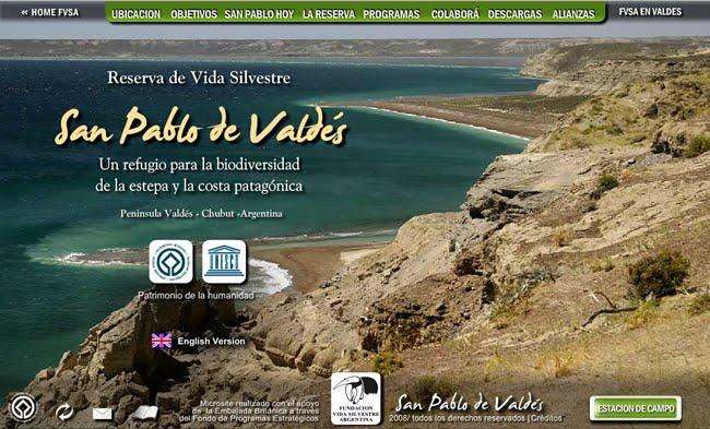 Fundación Vida Silvestre, Reserva San Pablo de Valdés
