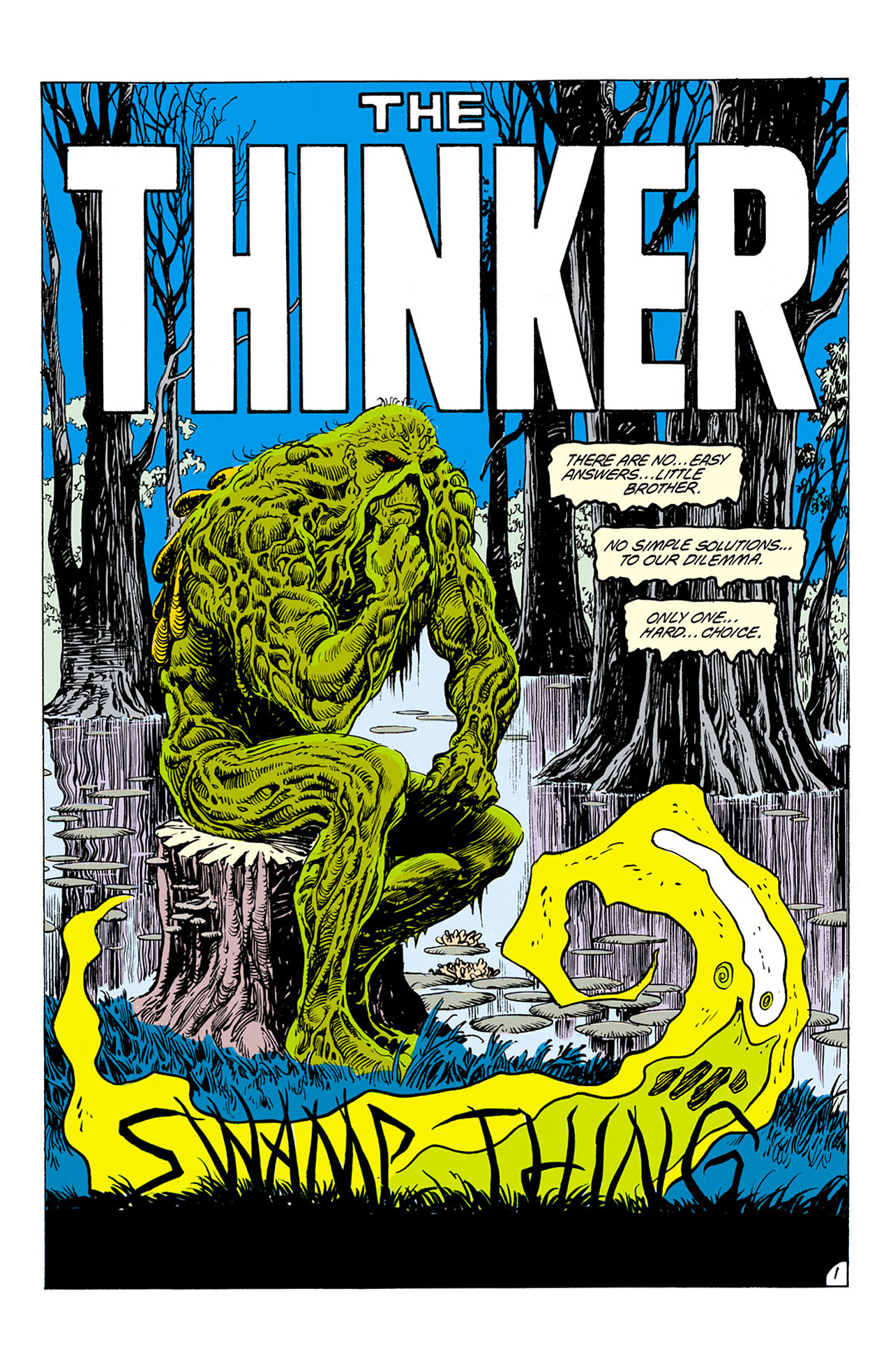 Swamp Thing (1982) Issue #75 #83 - English 2