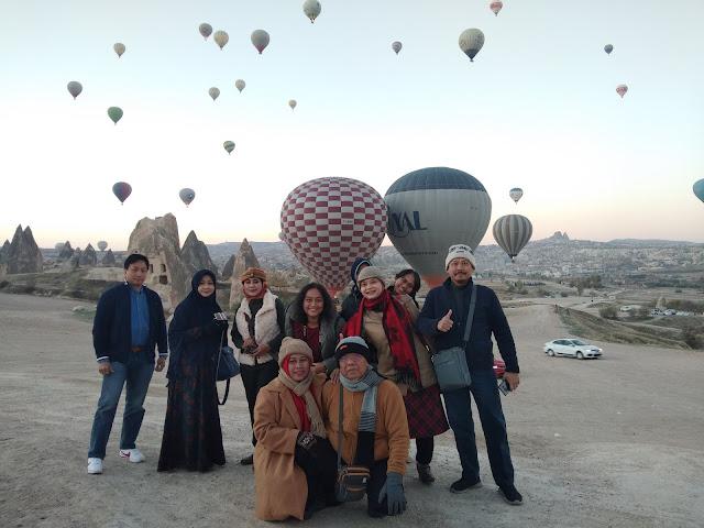 Rasakan Sensasi Magis Balon Udara Cappadocia