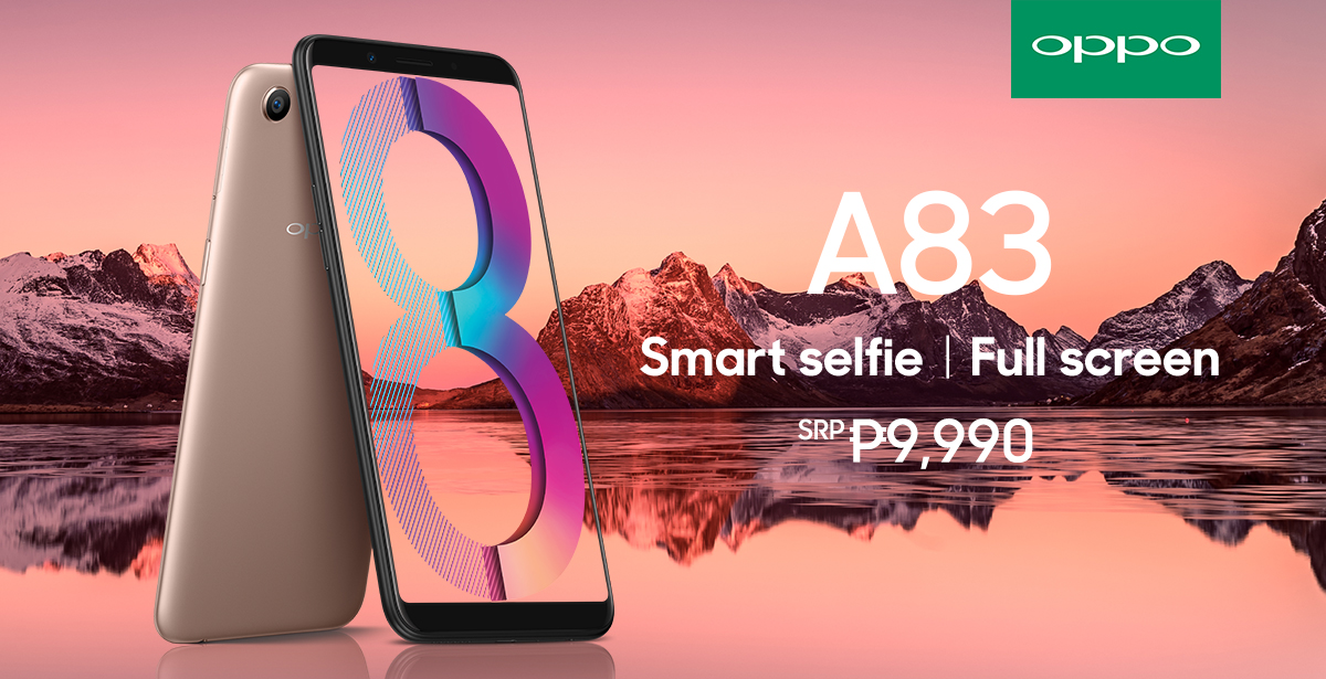 OPPO A83 offers the best value smartphone with A.I. Beauty 71bc13ea0