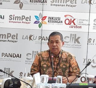 OJK Mencatat  Sektor Jasa Keuangan  2018 Stabil
