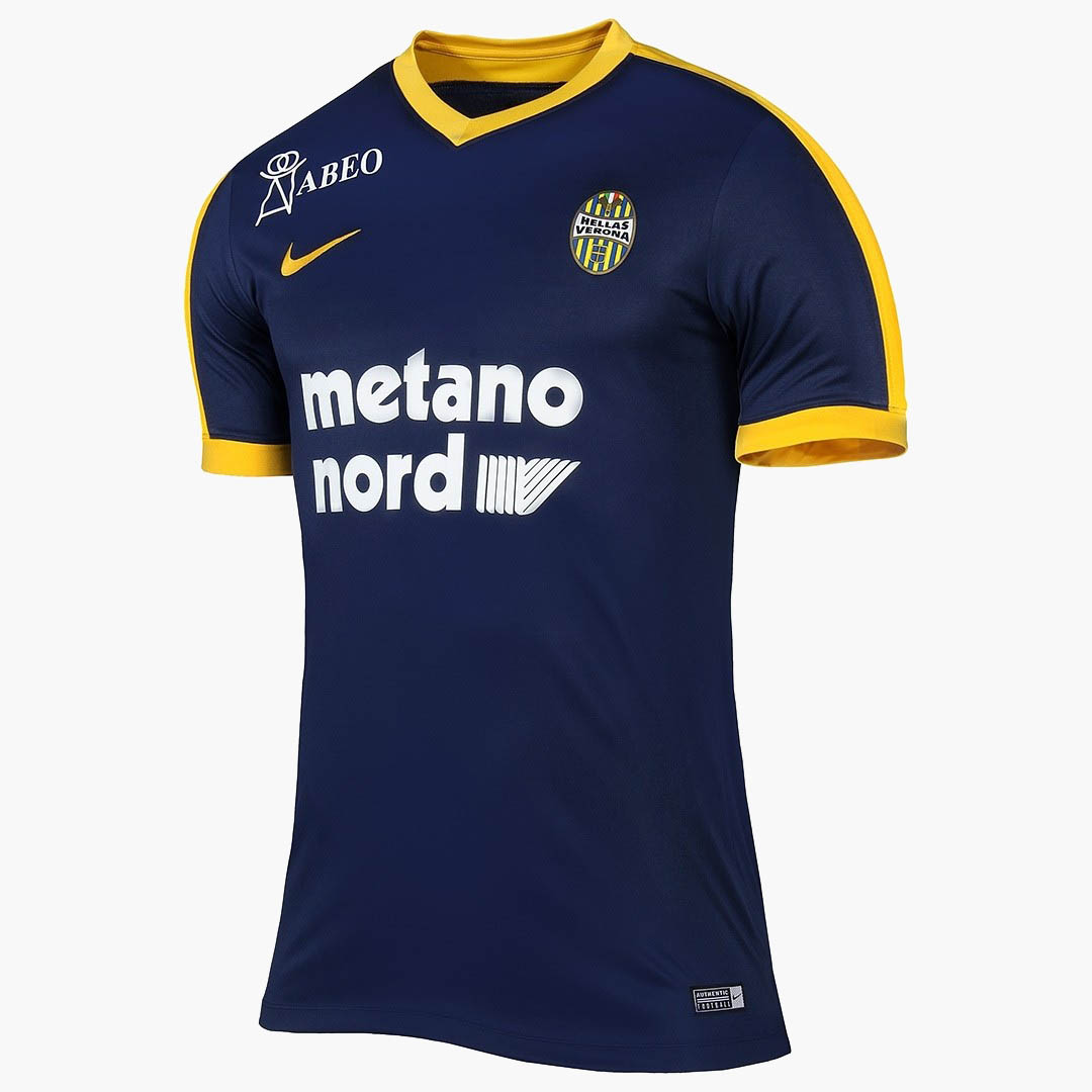 Nike hellas verona 17 18 kits released footy headlines for Uniform verona