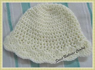 free crochet pattern, free crochet shelled hat pattern,