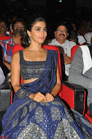 Pooja Hegde choli saree at DJ Duvvada Jaggannadham music launch ~  Exclusive 103.jpg