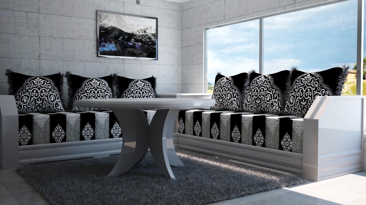 salon marocain waile. Black Bedroom Furniture Sets. Home Design Ideas