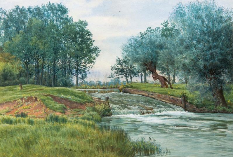 Bensozia: William Fraser Garden
