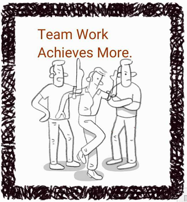 essays of teamwork Teamwork is an important buzzword in schools, universities and at offices today.