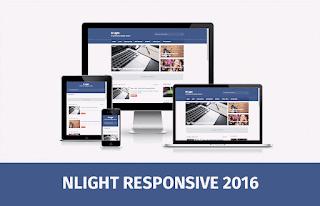 N Light Blogger Template