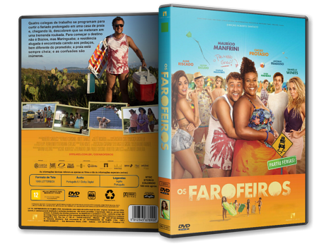 Capa DVD Os Farofeiros [Custom]