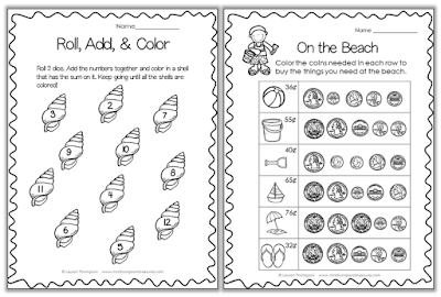 https://www.teacherspayteachers.com/Product/All-About-Summer-Print-and-Go-FREE-1851936