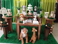 Decoração de festa infantil Safari - Selva Porto Alegre