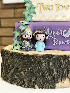 Lord of The Rings LOTR Wedding Cake Topper