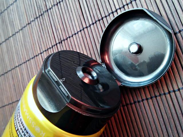 Isana Professional, Spülung Oil Care - Odżywka do włosów suchych i zniszczonych, otwarcie opakowania