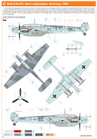 Messerschmitt Bf-110 G-4, Eduard, 1/72 scale model kit 7086