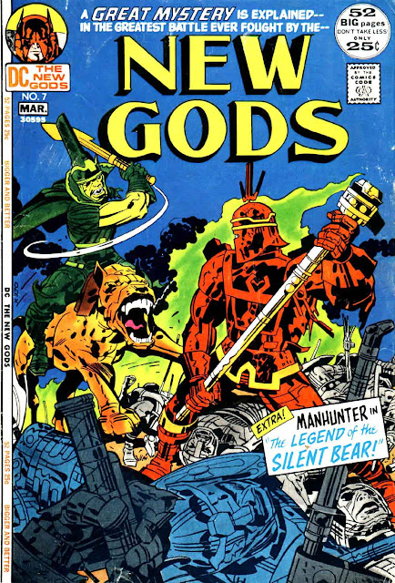 New Gods v1 #7 dc bronze age comic book cover art by Jack Kirby