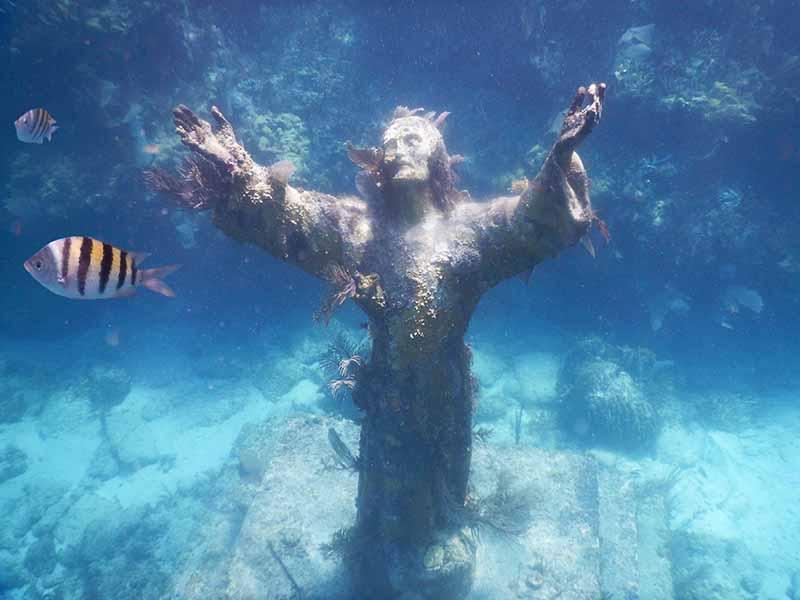 Key Largo Christ statue