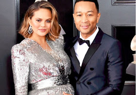Pregnant Chrissy Teigen Reveals Sex of Baby No. 2 After Leaving Grammys 2018 Early