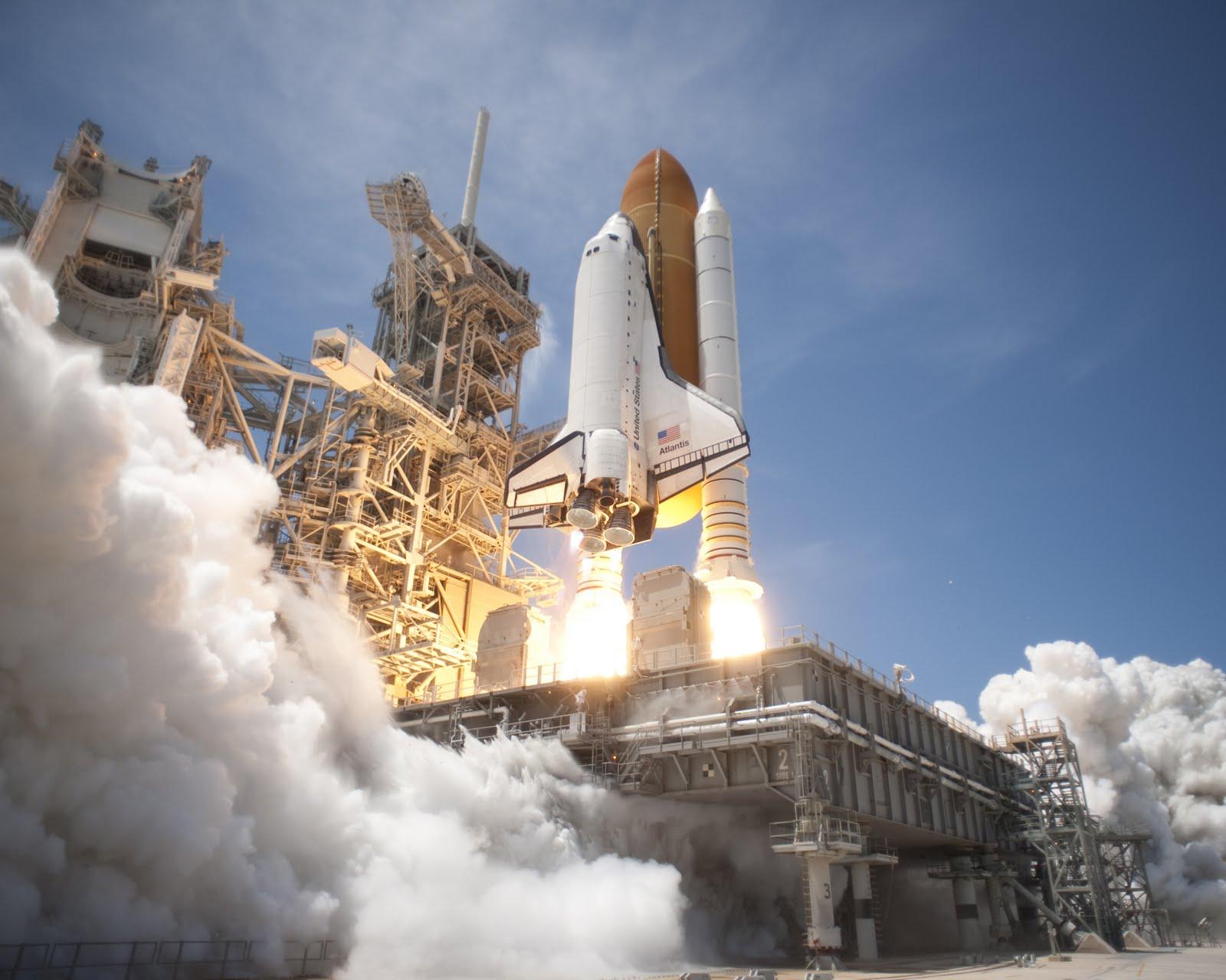 Kenown: Space Shuttle Atlantis Begins Final Mission