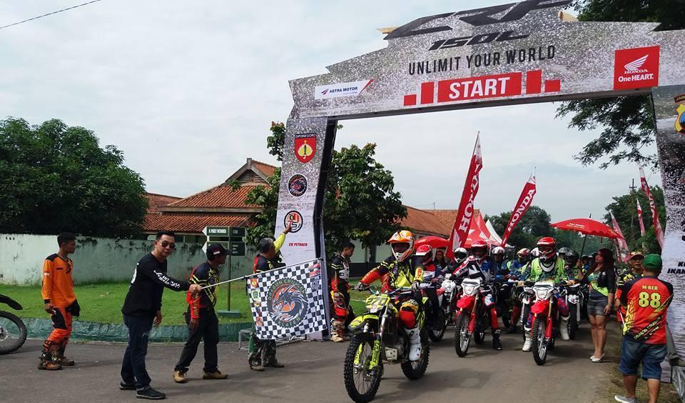 LAUNCHING CRF150L HUT TNI 2017 KLATEN