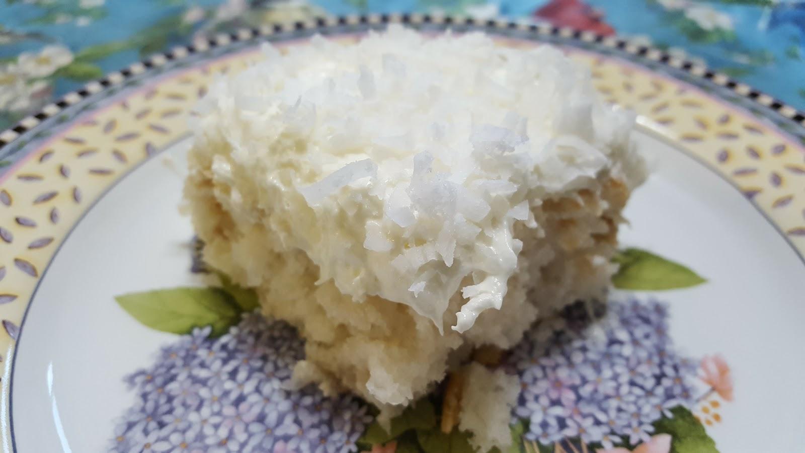 Coconut Cake Vanilla Wafers
