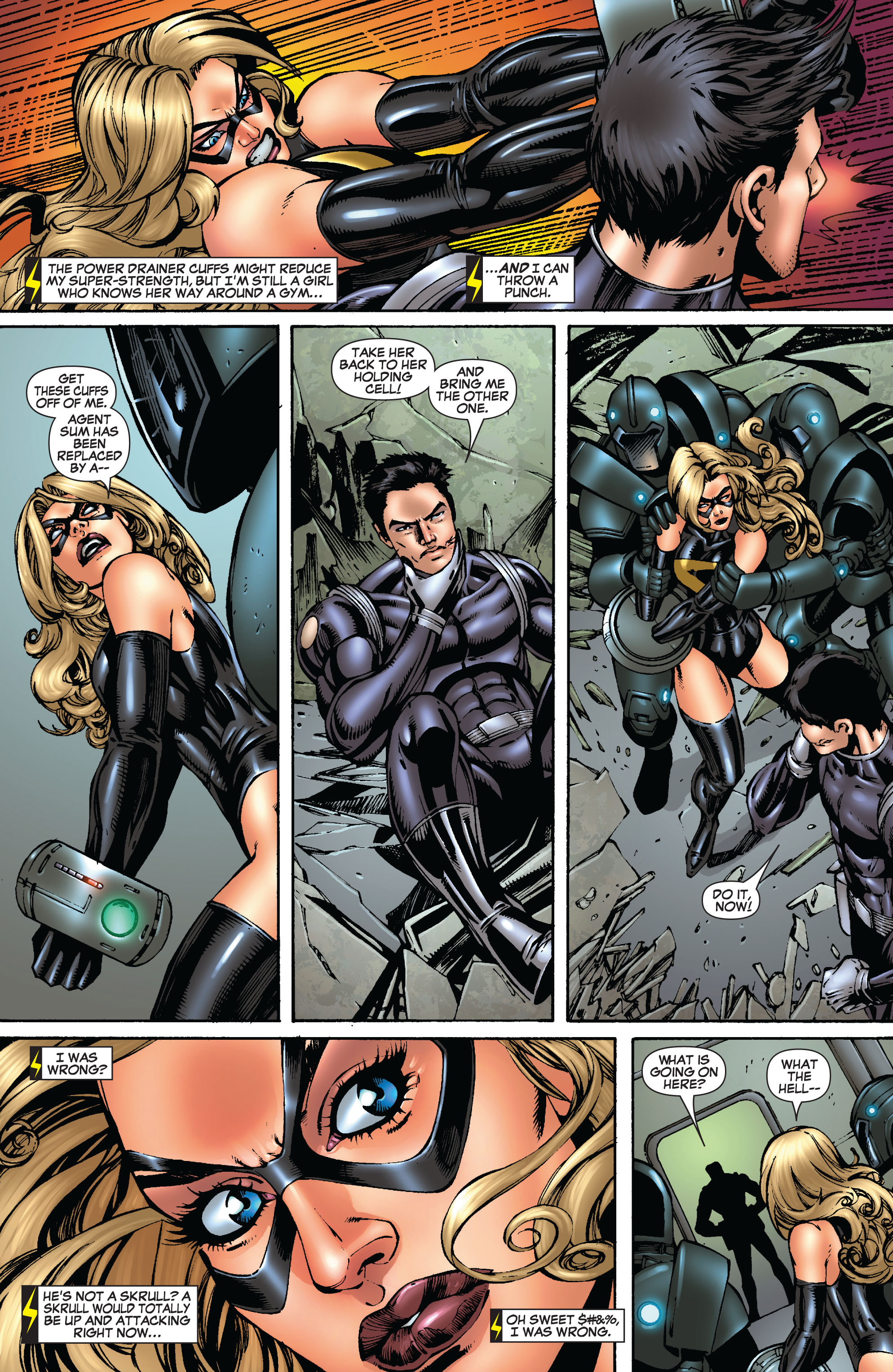 Read online Secret Invasion: The Infiltration comic -  Issue #9 - 18